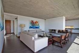 Projekty, nowoczesne Domy zaprojektowane przez G4 Arquitectos Asociados