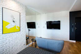 Salas de estilo moderno por Anna Serafin Architektura Wnętrz