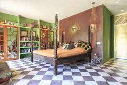 New Customer photos of cement tiles: Dormitorios de estilo mediterráneo de Crafted Tiles