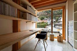 ©satoshi asakawa: 大松俊紀アトリエが手掛けた書斎です。
