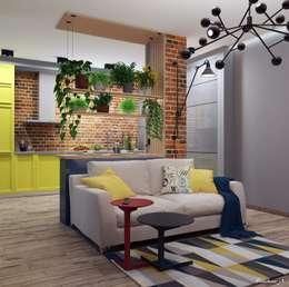 eclectic Living room by Natali Vasilinka