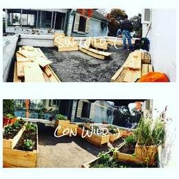 Agricultura Urbana / Huerta Urbana: Jardines de estilo rural por WILD PROYECT CHILE