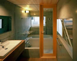 modern Bathroom by 神成建築計画事務所