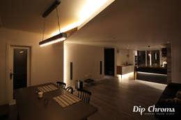 염창동 아파트: dip chroma의  다이닝 룸