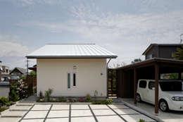 modern Houses by 岩川卓也アトリエ