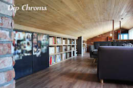 광주 복층 빌라: dip chroma의  거실