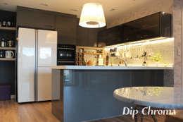Projekty,  Kuchnia zaprojektowane przez dip chroma