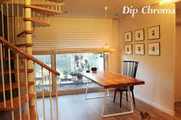 광주 복층 빌라: dip chroma의  다이닝 룸