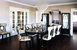 غرفة السفرة تنفيذ Aykuthall Architectural Interiors