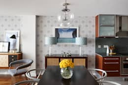 modern Dining room by Bhavin Taylor Design