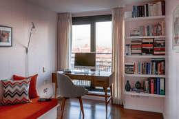 modern Study/office by Bhavin Taylor Design