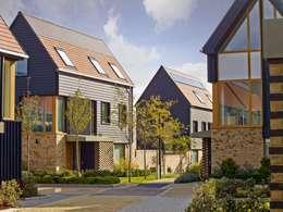 Projekty, nowoczesne Domy zaprojektowane przez Countryside Properties