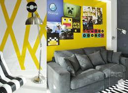 Energetyczny pokój nastolatka: styl , w kategorii Pokój dziecięcy zaprojektowany przez Pracownia Wnętrz