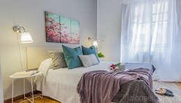 Chambre de style de style Scandinave par jaione elizalde estilismo inmobiliario - home staging