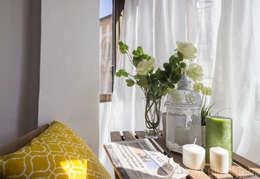 Balcon, Veranda & Terrasse de style de style Scandinave par jaione elizalde estilismo inmobiliario - home staging