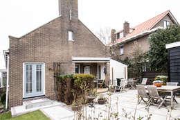 Projekty, klasyczne Domy zaprojektowane przez Woon Architecten