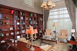 Plano Mimarlık ve Teknoloji – Çengelköy Mesa : klasik tarz tarz Oturma Odası