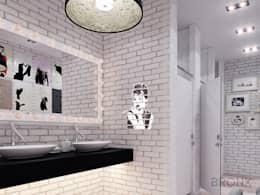 Baños de estilo  por Bronx