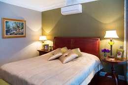 Plano Mimarlık ve Teknoloji – Çengelköy Mesa : klasik tarz tarz Yatak Odası