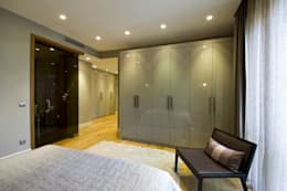 غرفة نوم تنفيذ Plano Mimarlık ve Teknoloji