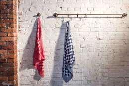Pure + Handdoekhouder in Ruw Brons: industriële Keuken door Dauby