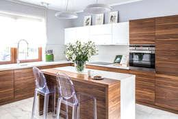 moderne Keuken door Pracownia projektowa Na Antresoli