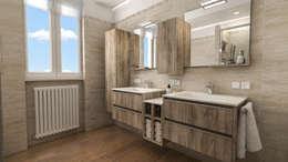 modern Bathroom by studiosagitair