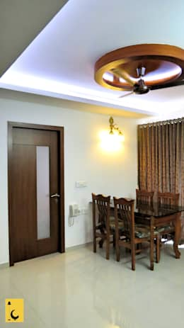 SPACE HI-STREAK, KULSHEKAR, MANGALORE: modern Dining room by Indoor Concepts