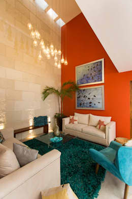 Salas de estilo moderno por Grupo Arsciniest