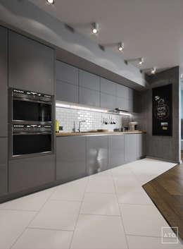 Квартира в балашихе: Кухни в . Автор – ATO Studio