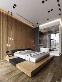 ЖК Сколков Парк: Спальни в . Автор – ATO Studio