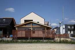 加門建築設計室의  주택
