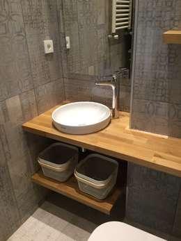 Plano Mimarlık ve Teknoloji – Firuzağa Ev: modern tarz Banyo