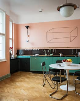 Projekty,  Kuchnia zaprojektowane przez Gisbert Pöppler Architektur Interieur