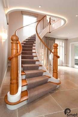 走廊 & 玄關 by Smet UK - Staircases