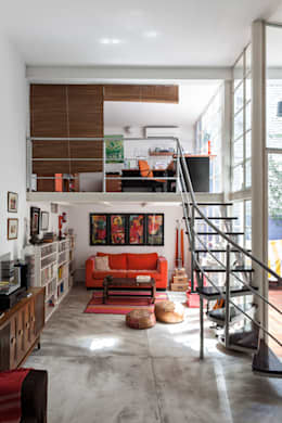 Galpón Lola: Estudios y oficinas de estilo industrial por Pop Arq