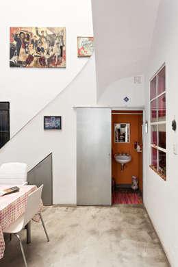 industrial Bathroom by Pop Arq