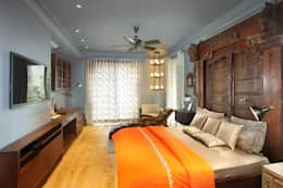 Bedroom: modern Bedroom by groupDCA