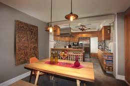 Cocinas de estilo moderno por groupDCA