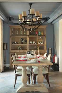 Dining Room: modern Dining room by groupDCA