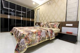 Guest room: modern Bedroom by Mind Studio