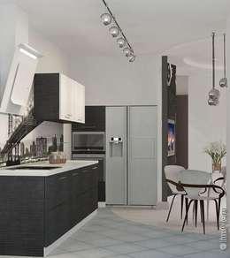 moderne Keuken door Дизайн-бюро «Линия стиля»
