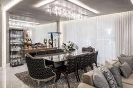 غرفة السفرة تنفيذ Heloisa Titan Arquitetura