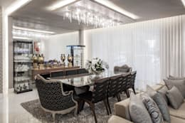 classic Dining room by Heloisa Titan Arquitetura