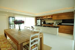 modern Dining room by João Luís Linck | Arquitetura