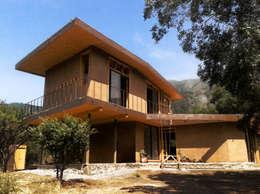 CASA VOGEL: Casas de estilo moderno por ALIWEN arquitectura & construcción sustentable