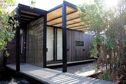 CASA RO: Casas de estilo moderno por ALIWEN arquitectura & construcción sustentable