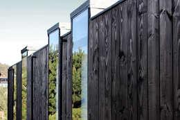 Ventanas de estilo  por ALIWEN arquitectura & construcción sustentable