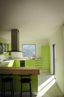 Casa D: Cocinas de estilo moderno por Norte Arquitectura y Construccion