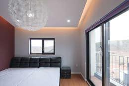 성석동 주택 (Seongseokdong House) : 위빌 의  침실